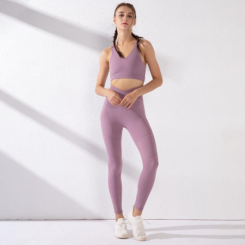 PNM CLOTHING Sports apparel L / Purple Women's UA Fly Fast 2.0 Energy Tights