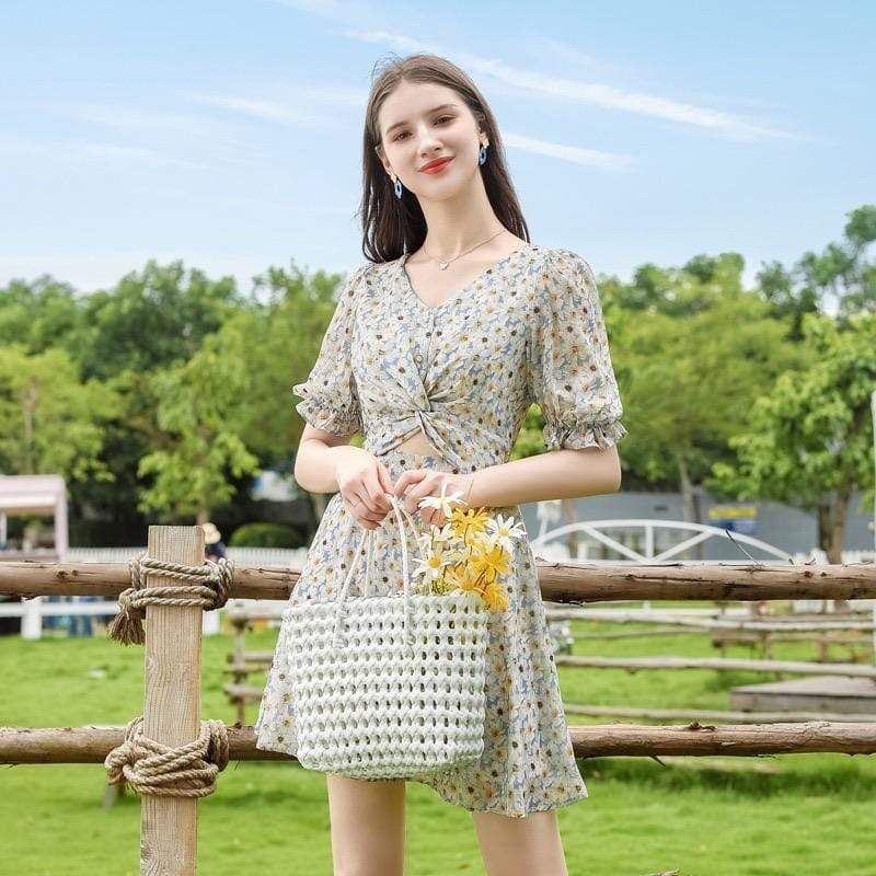 PNM ClOTHING women dress Floral Shift Dress
