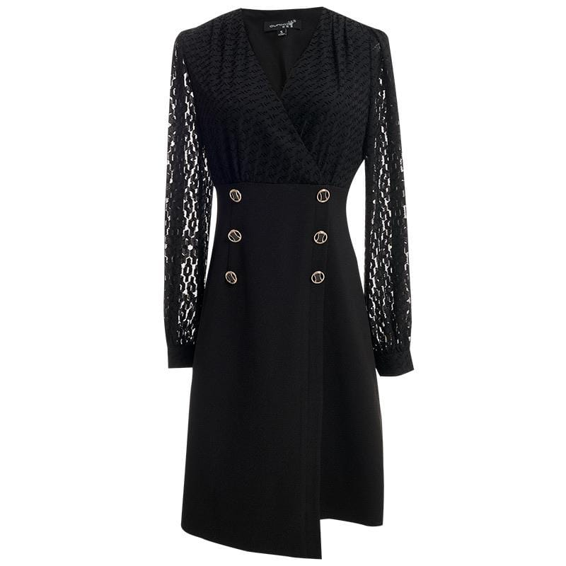 PNM ClOTHING women dress LIMITED EDITION Laser Cut Shift Dress