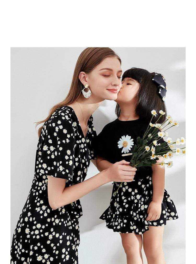 PNM TOP Sleeved flower tee for kids