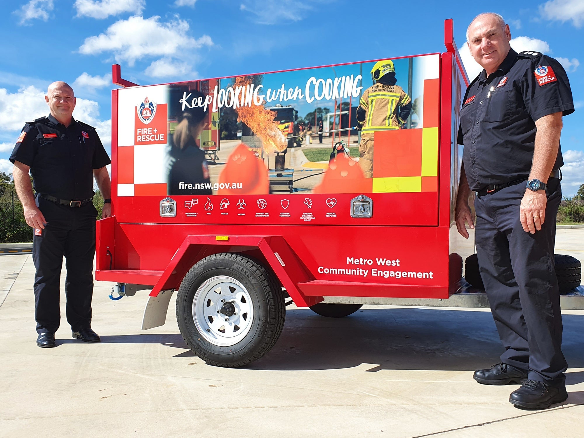 Ballina RFS first to get new Fire education trailer