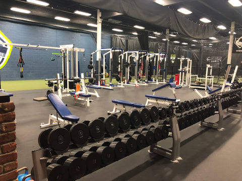 Power Arm Ramsey Baseball and Softball Facility Gym