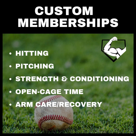Power Arm Ramsey Baseball and Softball Memberships