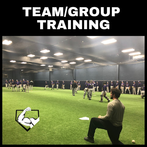 Team Baseball and Softball Training at Power Arm Ramsey