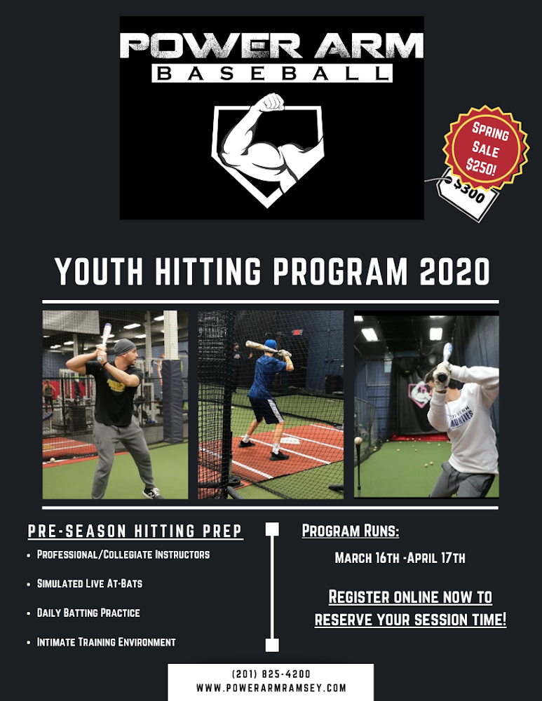 2020 Youth/LL Preseason Hitting Program