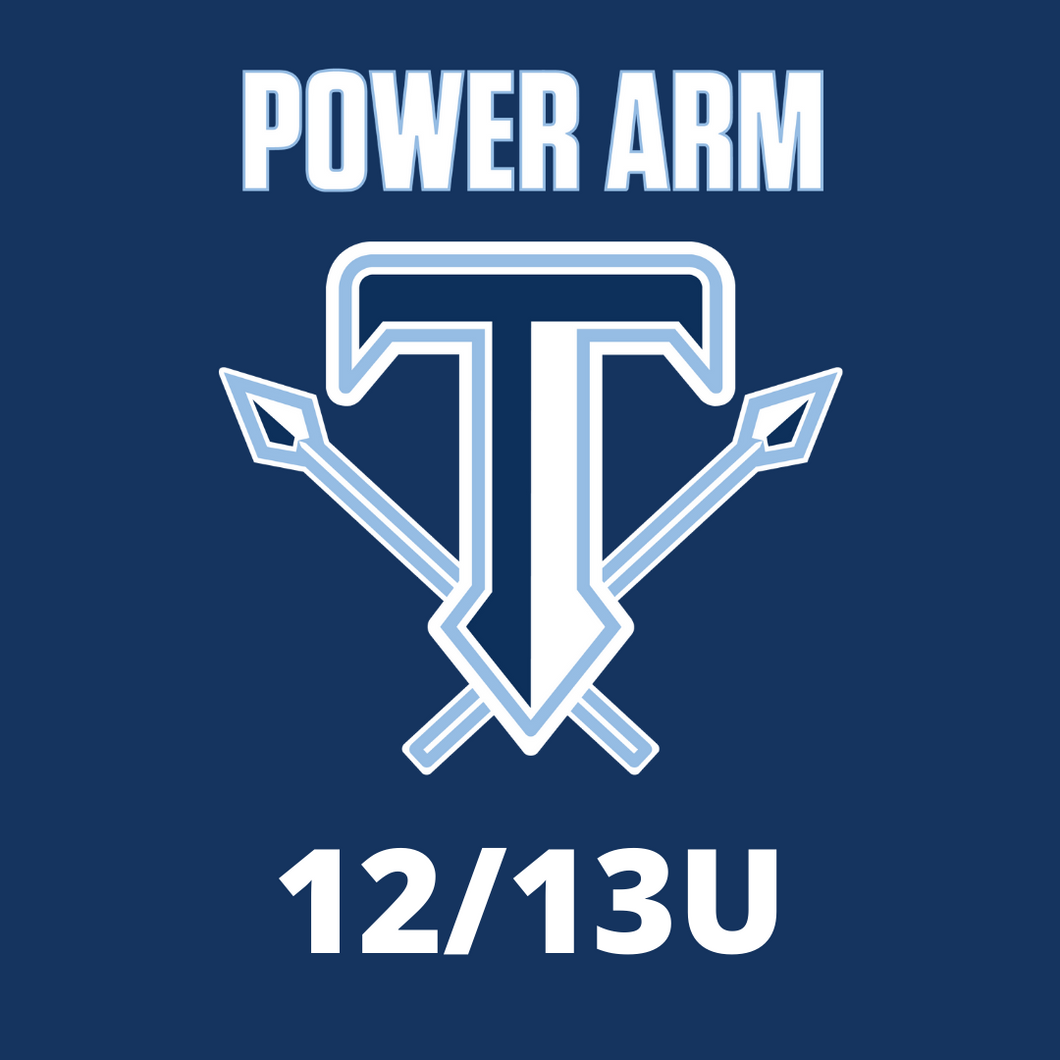12-13U Power Arm Titans Registration Winter-Summer 2020-21
