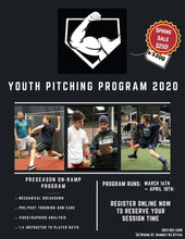 Load image into Gallery viewer, 2020 Youth/LL Preseason Pitching Program