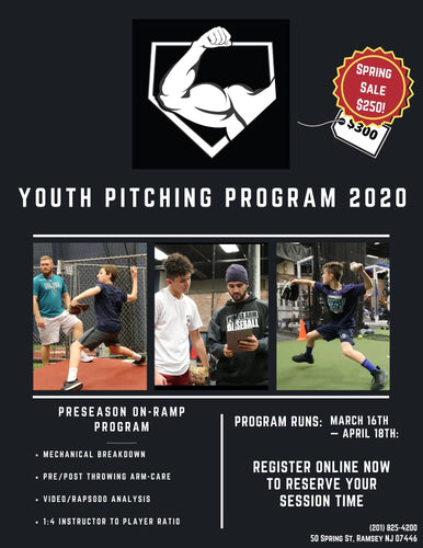 2020 Youth/LL Preseason Pitching Program