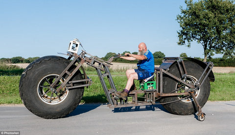 worlds heaviest bicycle