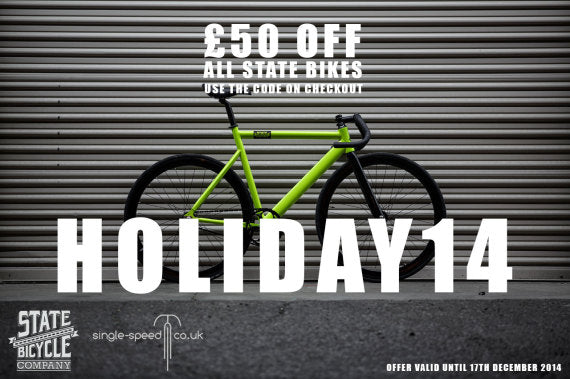 STATE BICYCLE SALE