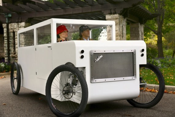 Cyclone hybrid bicycle car