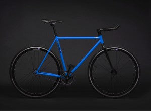 matte blue mango fixed gear