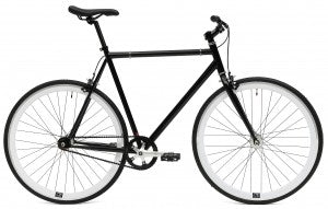 C8 black fixed gear bike