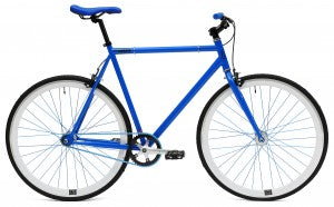 C8 blue single speed bike