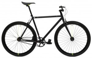 black fixedd gear bike