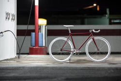 Cardinal fixed gear bike by State Bicycle Co