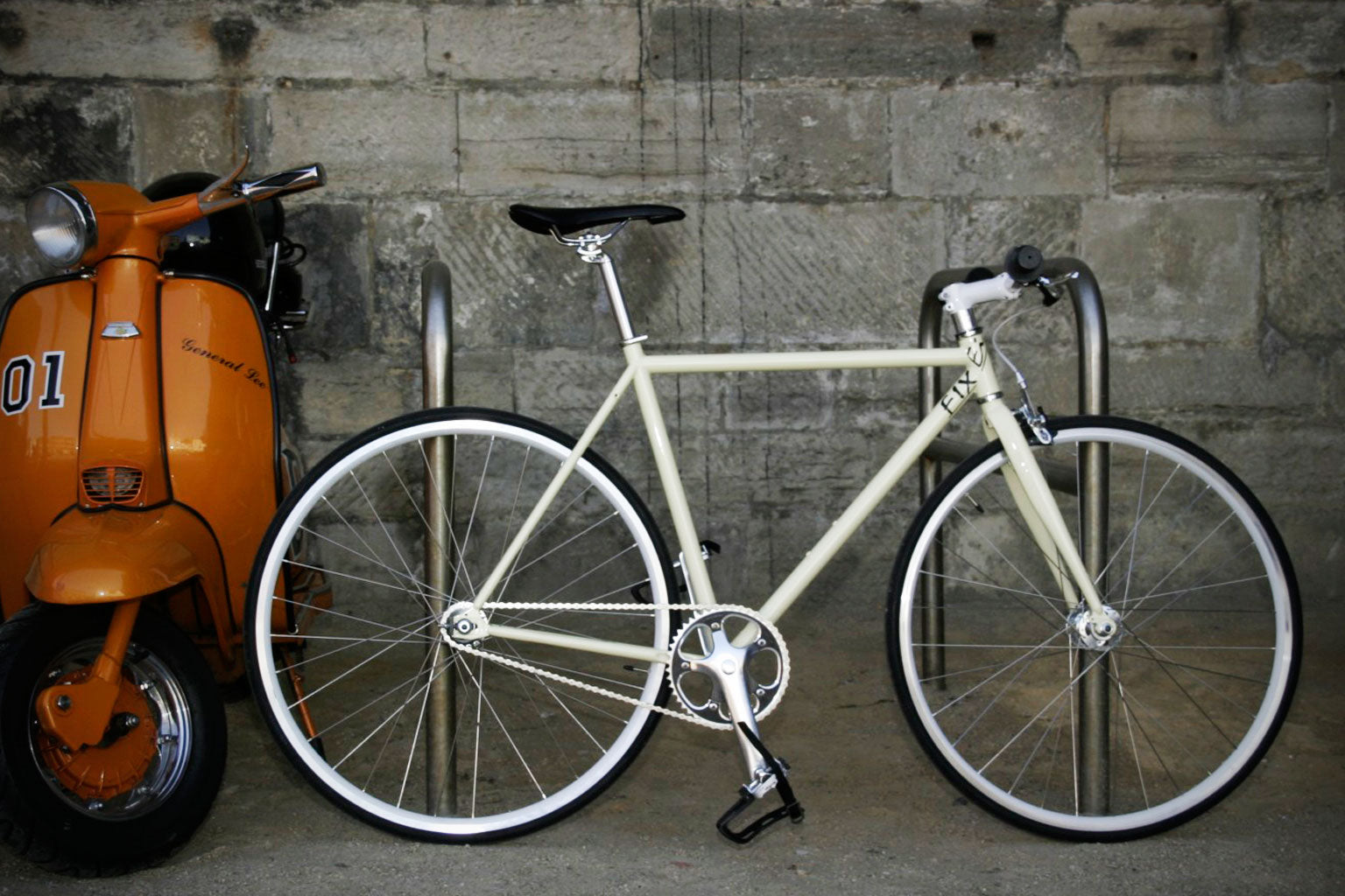 flip flop hub fixed gear bike