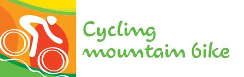 cycling mountain bike logo Rio 2016 olympics