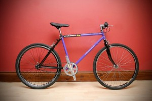 raleigh mtb conversion