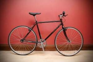 single speed city bike