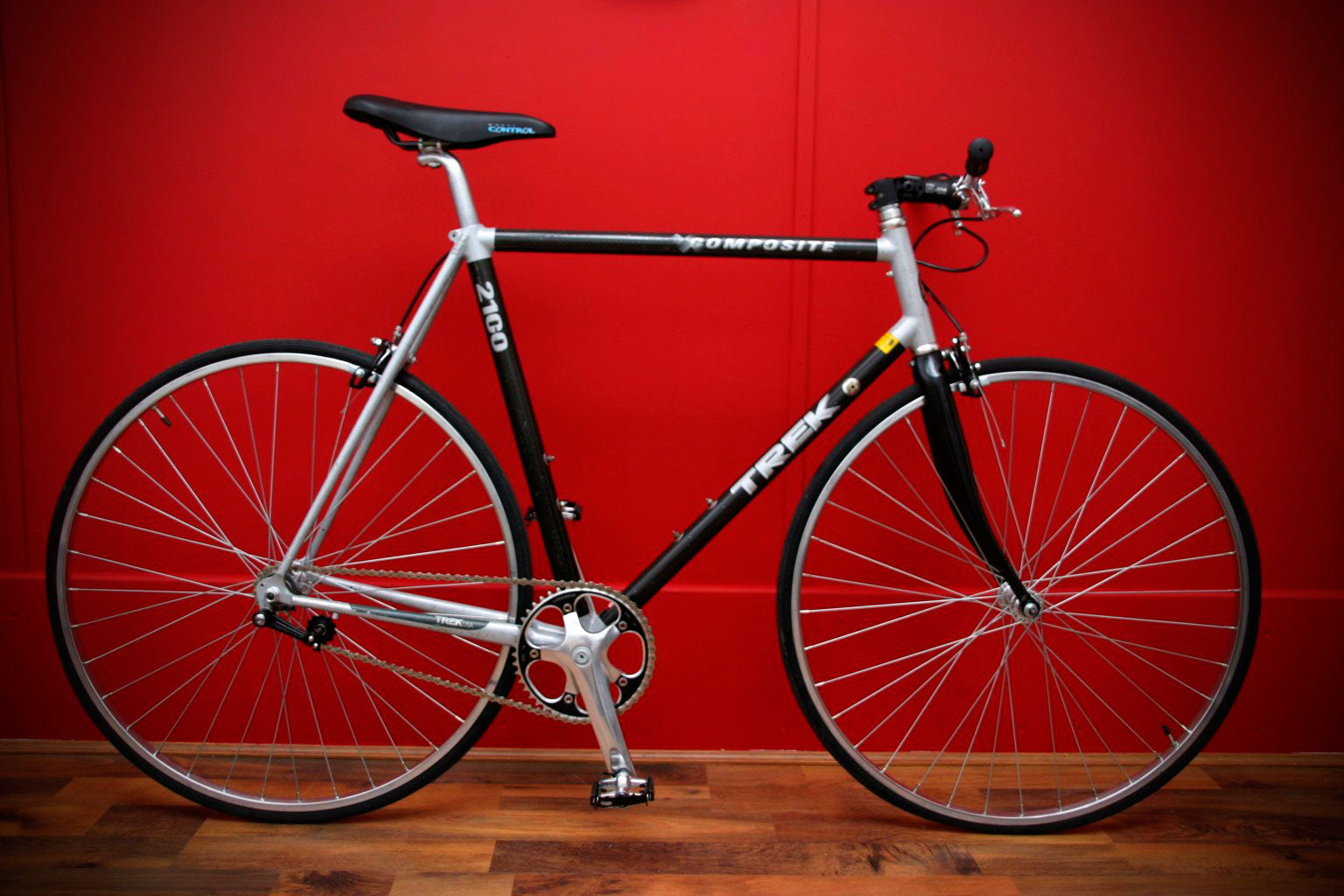 trek 2100 carbon composite single speed bike