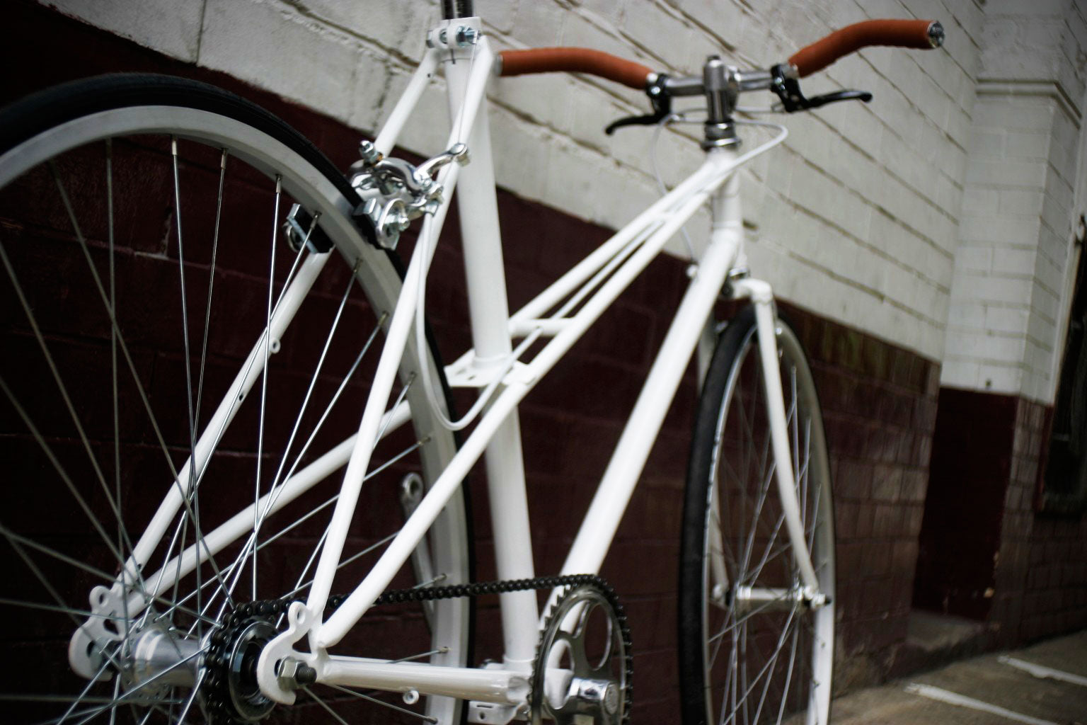 white mixte dropouts