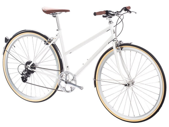 Geared City Bikes - Coney White