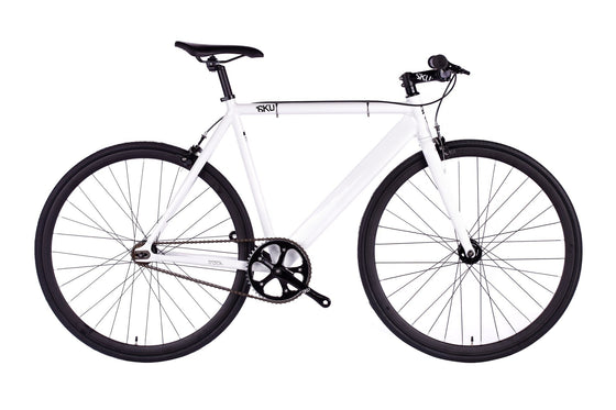 Single Speed & Fixed Gear Bikes - White