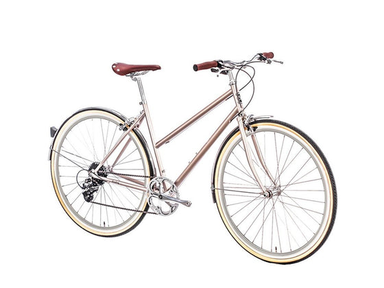 Geared City Bikes - Pershing Gold