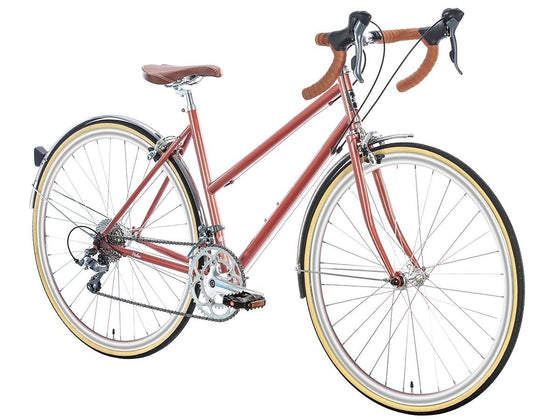 Geared City Bikes - Rose Gold