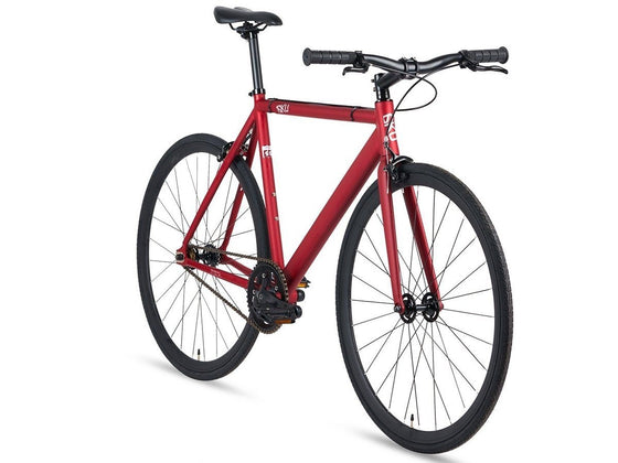 Single Speed & Fixed Gear Bikes - Burgundy