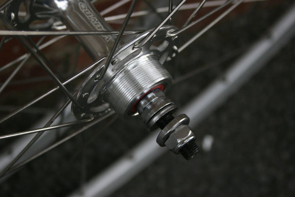 SSC silver single speed wheel