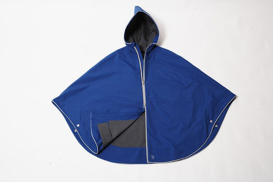 Clothing & Apparel - Urban Poncho Royal Blue