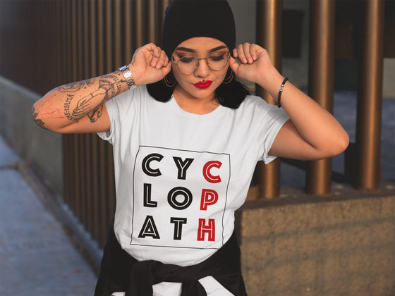 Clothing & Apparel - White CPH Cyclopath Womens T-shirt