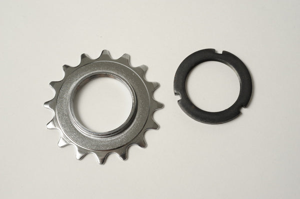 Fixed Gear Cog + Lockring 12t, 13t, 14t, 15t, 16t, 17t, 18t