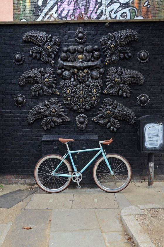Single Speed & Fixed Gear Bikes - Foffa Single Speed - Azure