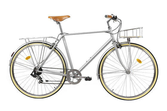 Geared City Bikes - City Classic-Grey
