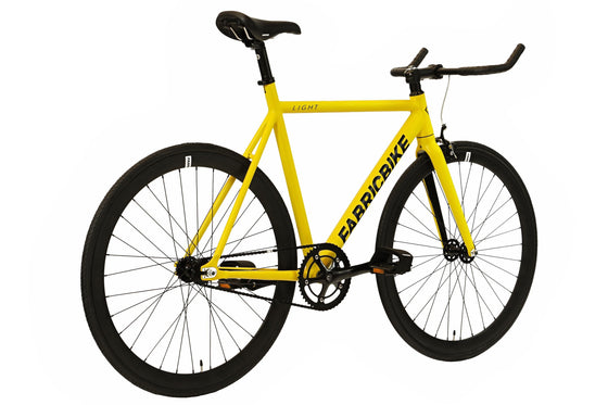 Single Speed & Fixed Gear Bikes - Light- Yellow