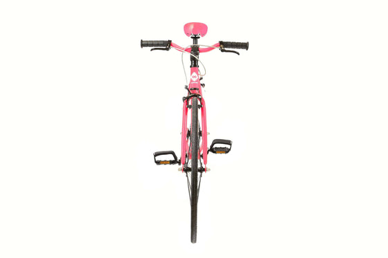 Single Speed & Fixed Gear Bikes - Fuchsia&White