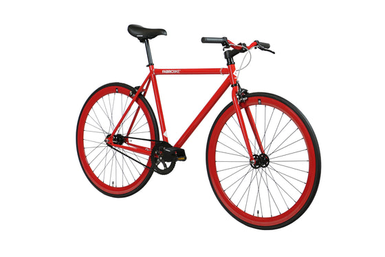 Single Speed & Fixed Gear Bikes - Fully Glossy Red