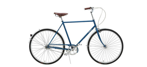 Geared City Bikes - Gustav Blue