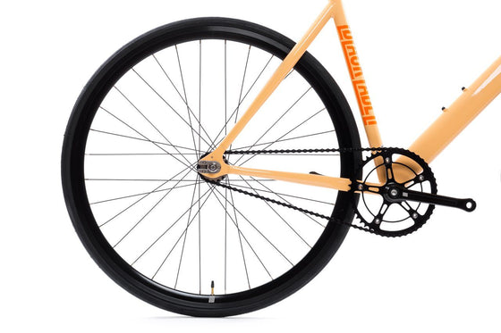 Single Speed & Fixed Gear Bikes - 6061 Black Label V2 - Peach