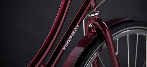 Geared City Bikes - Paula Burgundy