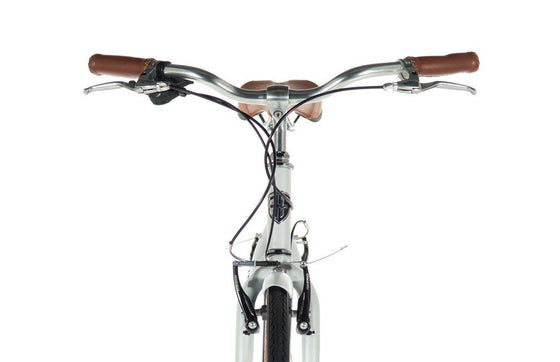 Geared City Bikes - Plume Matte White