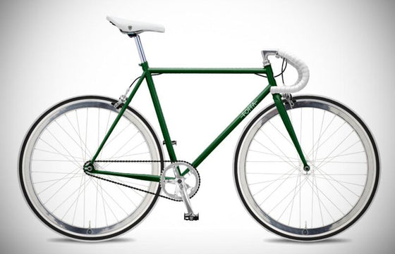 Single Speed & Fixed Gear Bikes - Foffa Prima - Premium Green