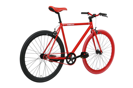 Single Speed & Fixed Gear Bikes - Red&Matte Black 2