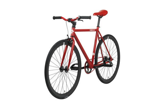 Single Speed & Fixed Gear Bikes - Red&Matte Black