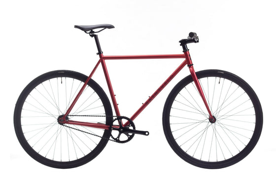 Single Speed & Fixed Gear Bikes - Beretta - Red Satin Matte