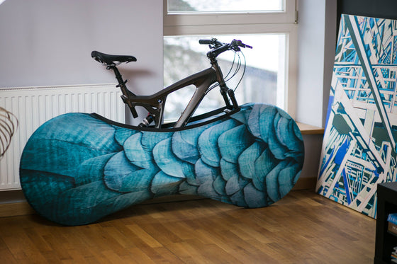Bicycle Accessories - Velo Sock - Feathers
