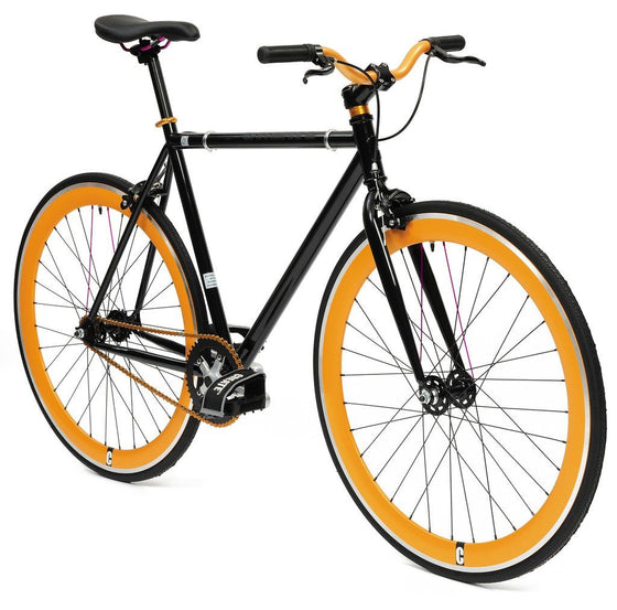 Single Speed & Fixed Gear Bikes - Create Black & Gold